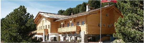 Resciesa Stazione a Monte: rifugio Resciesa alla stazione a monte della funicolare Resciesa, a Ortisei
