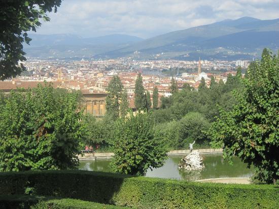 View from Boboli Gardens - Picture of Boboli Gardens, Florence ...