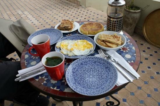 Dar el Ma: Breakfast
