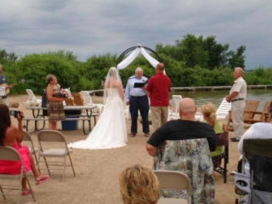 Getting Married at Shing Wako Resort Brainerd MN