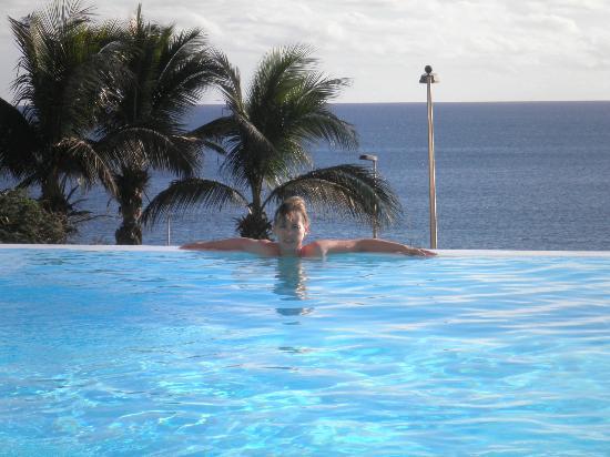 H10 Playa Meloneras Palace : piscina infiniti