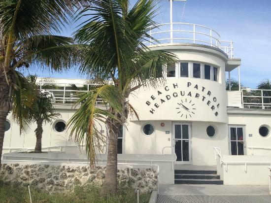 beach patrol headquarters picture of the official art deco walking