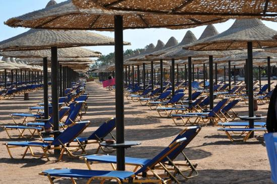 Jaz Mirabel Beach: almost empty beach