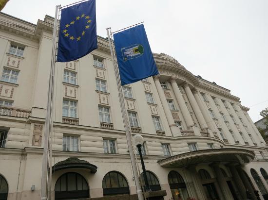 Hotel Esplanade Front Facade Picture Of Esplanade Zagreb Hotel Tripadvisor