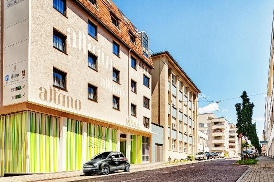 attimo Hotel Stuttgart: Fassade