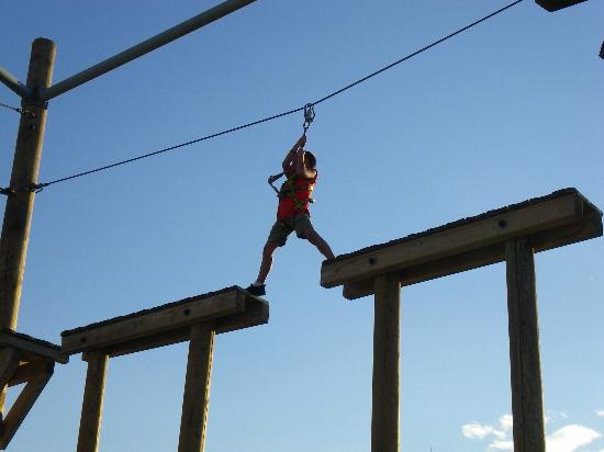 Holiday Village Rhodes: High Ropes - we loved it!