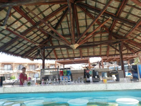 Holiday Village Rhodes: We just adored the swim up bar, so close to our room - Olga was amazing!