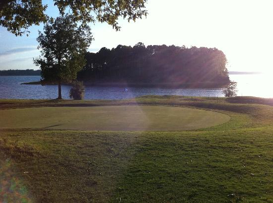 Cypress Bend Resort, BW Premier Collection : Island off of the 16th & 17th greens...