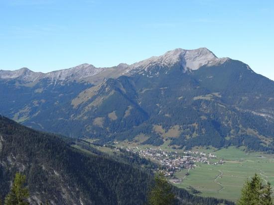 Alpspitz Pension: Biberwier von oben