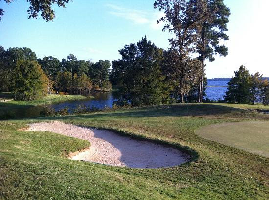 Cypress Bend Resort, BW Premier Collection: The last three holes might be the most scenic - great way to finish!