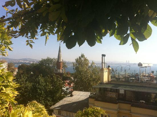 Hotel Empress Zoe: View from roof terrace