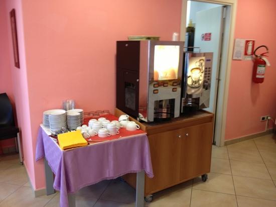 Residenza Le Dune: colazione bevande