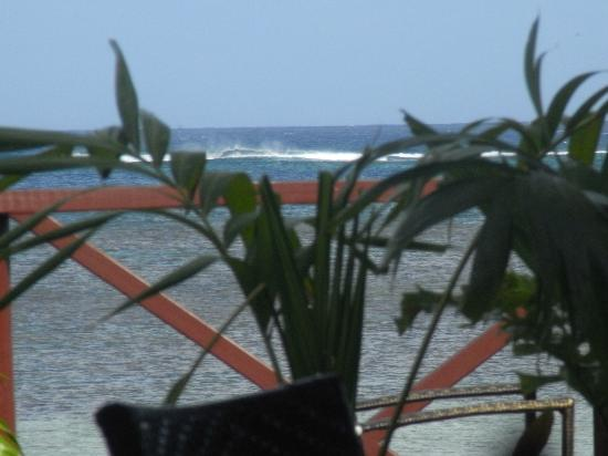 Le Lagoto Resort & Spa: looking from the restaurant out