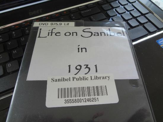 Sanibel Public Library: Sanibel history dvd