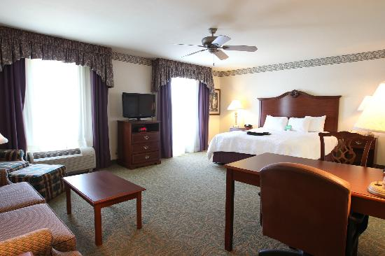 Hampton Inn Odessa: King Non-smoking Accessible room