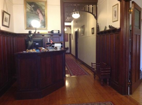 Lorelei Bed and Breakfast : reception