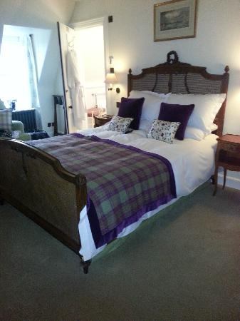 Barcaldine Castle: Comfiest bed EVER!