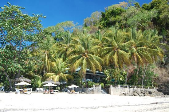 Hotel Gerard et Francine: Vue depuis la plage
