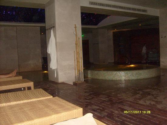 Marigold Termal & Spa Hotel: view in thermal pool