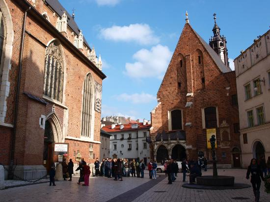 Historic Centre of Kraków: ST Barbara's Jesuit Church