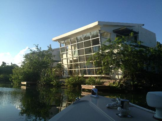 Rosewood Mayakoba: Our SPA SUITE (from boat)