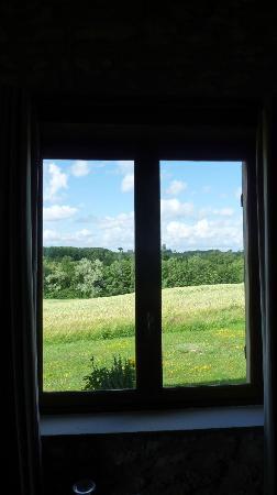 Pre de l'Aubier B&B: From our window