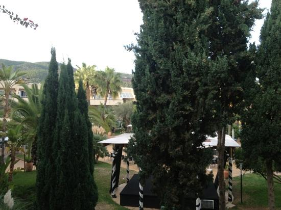 Hotel Ibersol Son Caliu Mar: balcony view
