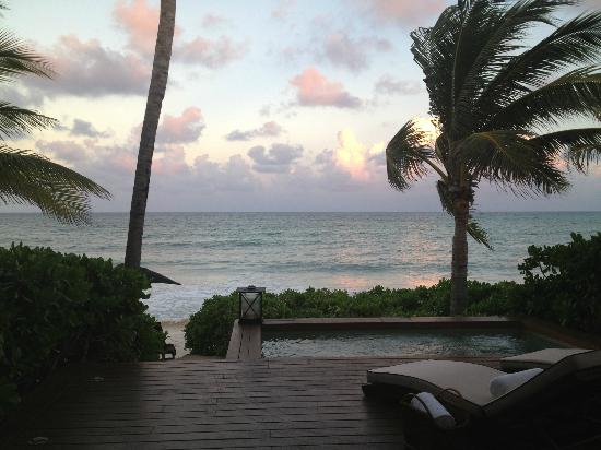 Rosewood Mayakoba: Oceanfront Room Plunge Pool/View
