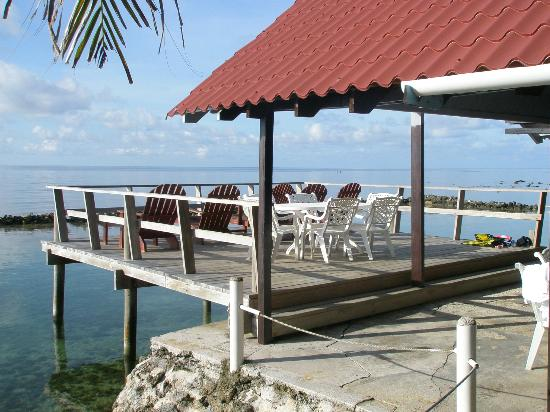 Reef House Resort: Porch