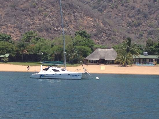 Danforth Yachting: View of the Lodge & Mufasa
