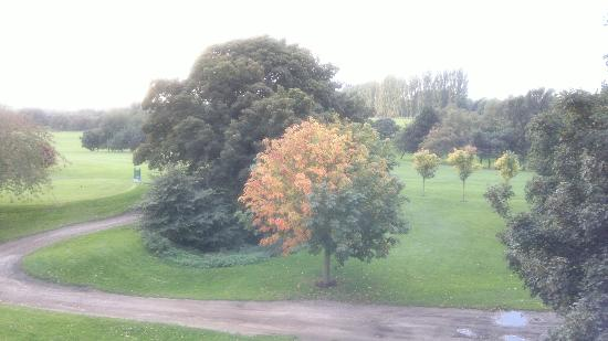 Humber Royal Hotel: Golf course from bed room, Autumn colors