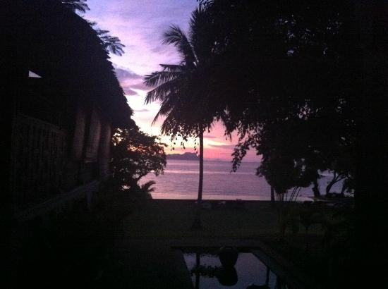 เกาะยาว ไอส์แลนด์ รีสอร์ท: l'alba dal mio letto