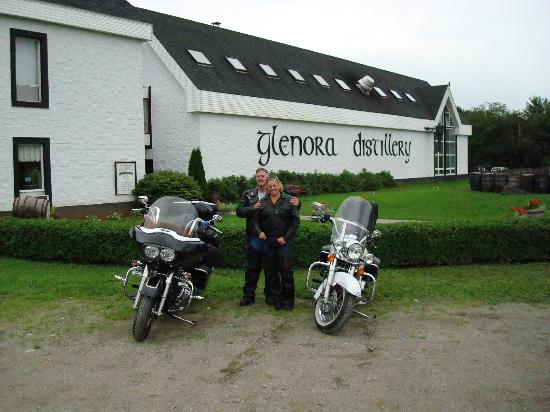 Cabot Trail Motorcycle Retreat: Glenora Distilary
