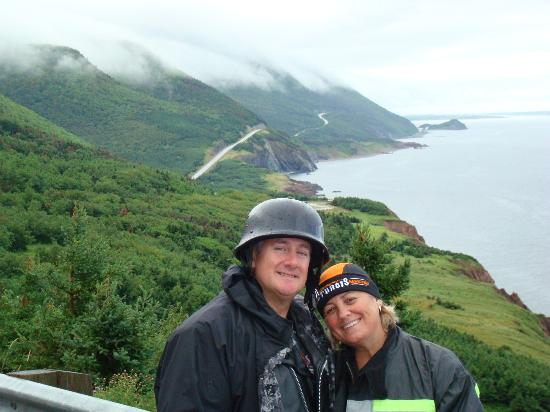 Cabot Trail Motorcycle Retreat : Famous Cabot Trail View