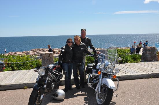 Cabot Trail Motorcycle Retreat: Along the Cabot Trail