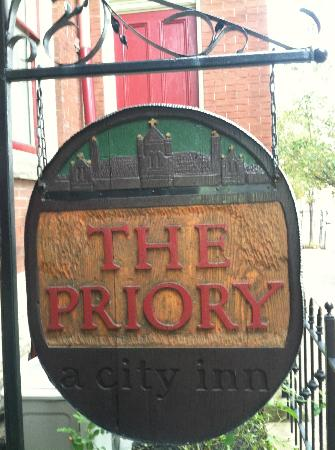 The Priory Hotel : How can you not want to stay here?