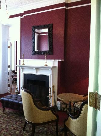 The Priory Hotel: The photos of the interior don't depict the charm and comfort well enough.