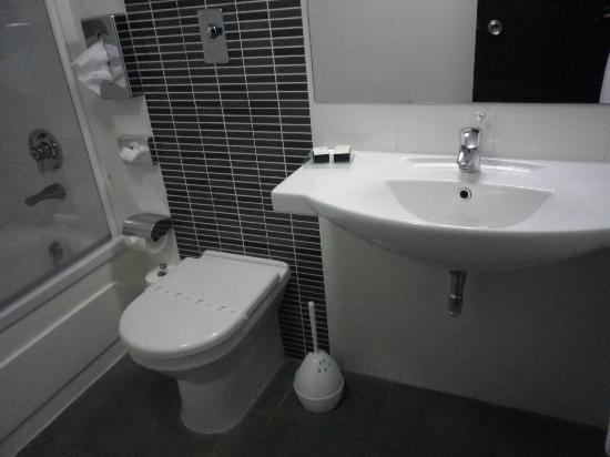 Preluna Hotel & Spa: Basin sink and toilet