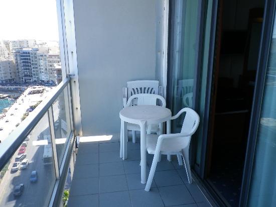 Preluna Hotel & Spa : Balcony