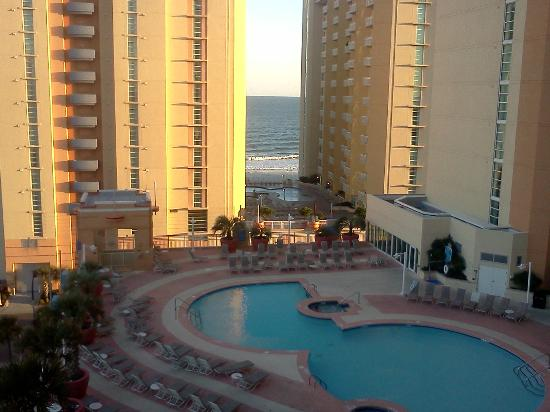 Wyndham Ocean Boulevard: View from 5th floor balcony