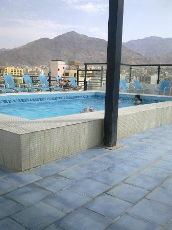 Days Inn Hotel Aqaba: nice view of the mountain around