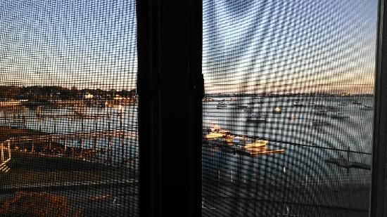 The Inn at Scituate Harbor: morning view