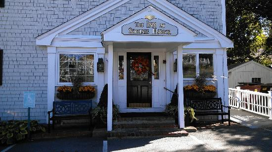 The Inn at Scituate Harbor: front door