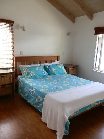 Aretai Beach Villas: Main bedroom