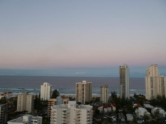 Crowne Plaza Surfers Paradise: View from room