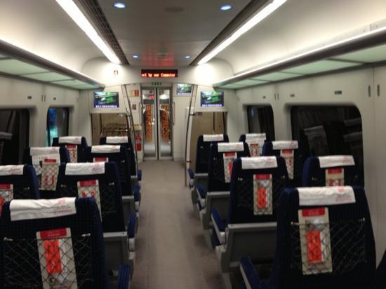 AREX (Airport Railroad Express): 列車内2