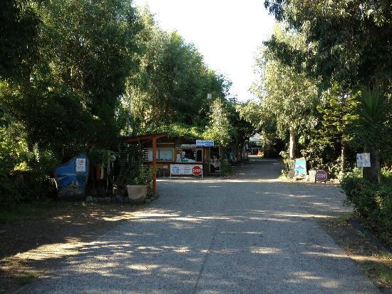 Camping La Focetta Sicula: Ingresso principale del campeggio