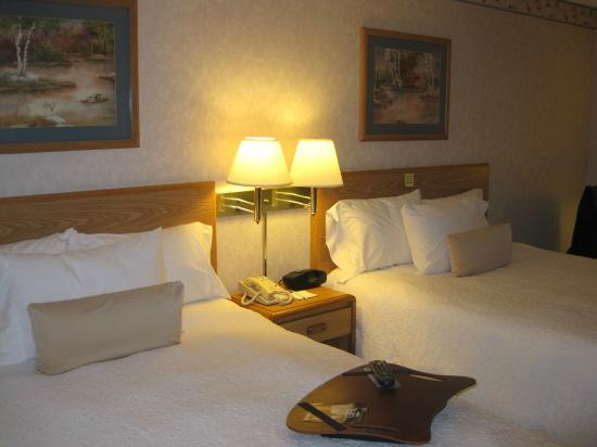 Hampton Inn Bakersfield - Central: 2 Queen beds