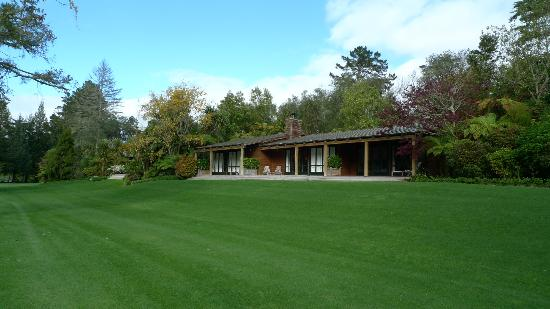 Huka Lodge: View of our suites