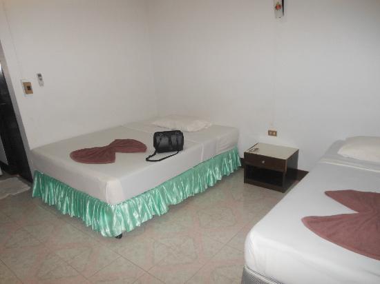 Silver Beach Resort: standard twin room